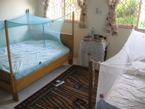 Beds with Mosquito Nets